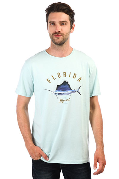 Футболка Rip Curl Surfing States Ss Tee Light Blue