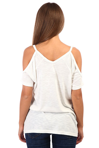 Футболка Rip Curl Salty Cold Shoulder White